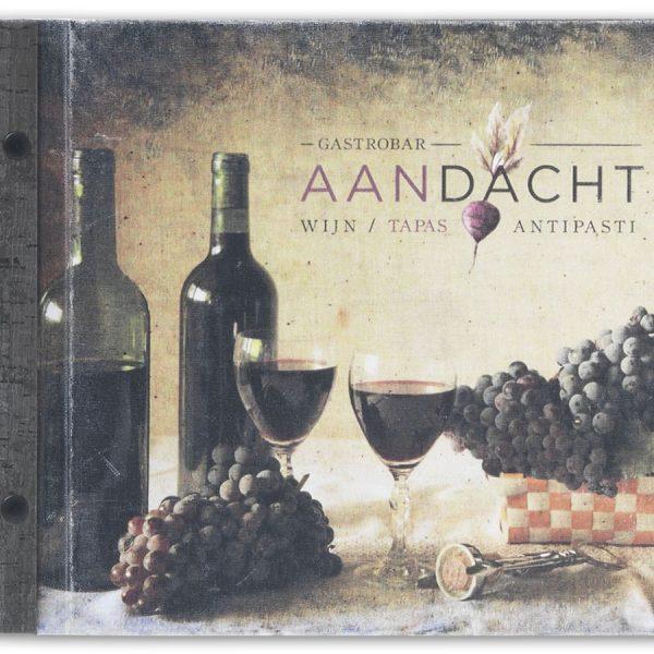 Wijnkaart bedrukt