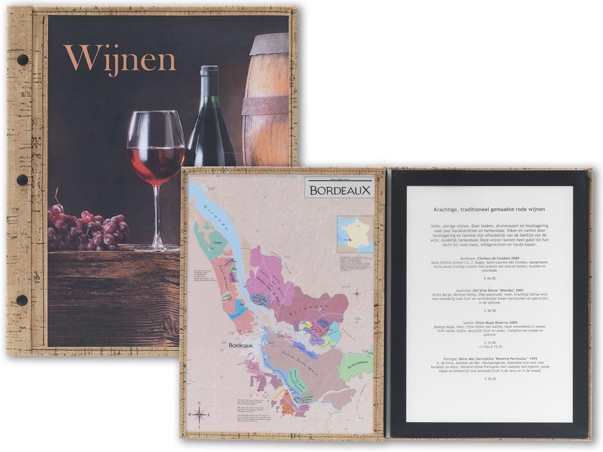 wijnkaarten ontwerpen bij The Menu Store